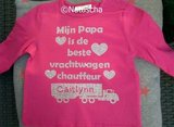 "Shirt ""Mijn papa is de beste""_"